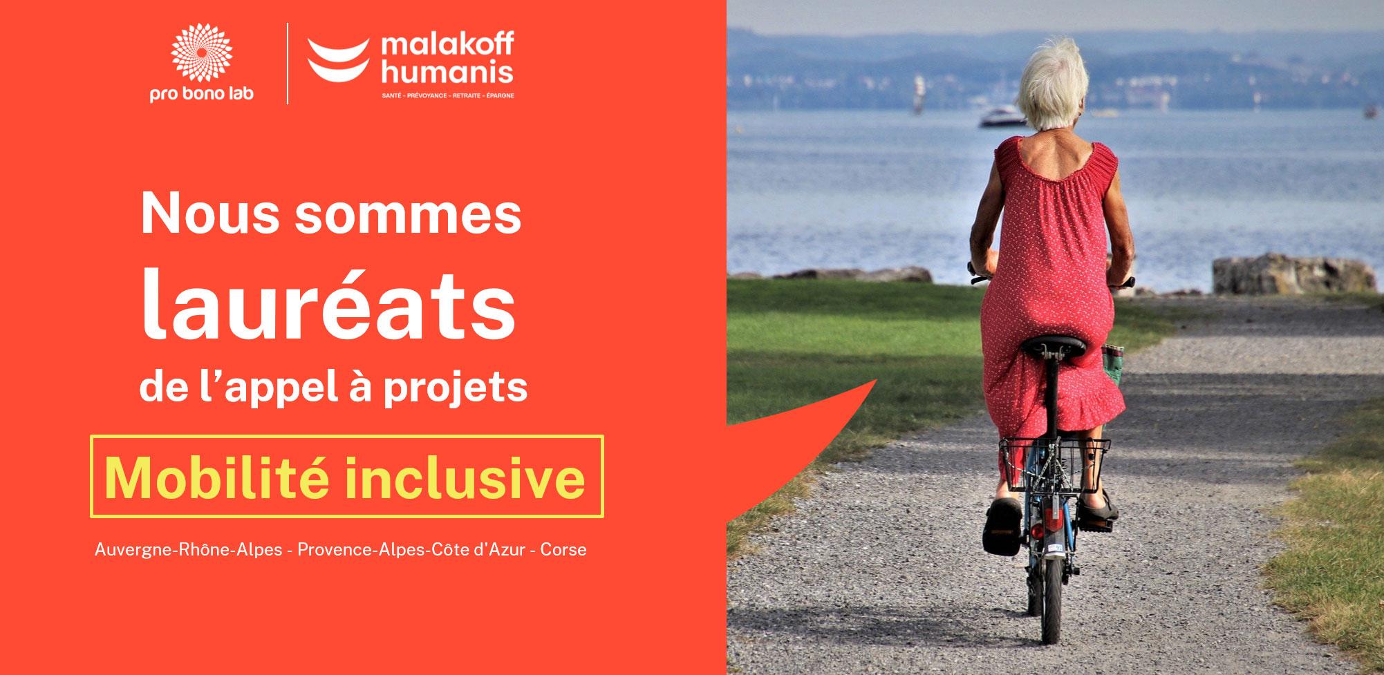 Lauréats de l'appel à projets mobilité inclusive